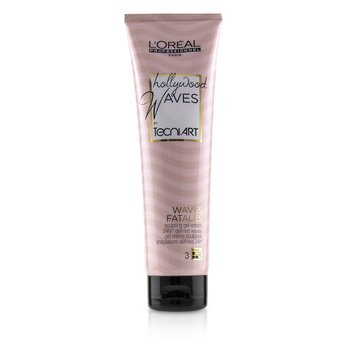 Professionnel Hollywood Waves by Tecni.Art  Waves Fatales Sculpting Gel-Cream (150ml/5.1oz)