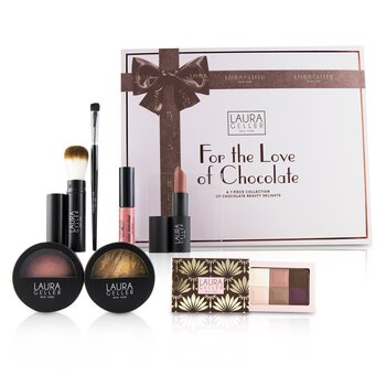 For The Love Of Chocolate A 7 Piece Collection Of Chocolate Beauty Delights - # Tan (7pcs)