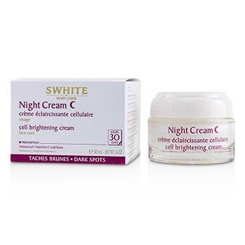 SWHITE Night Cream - Cell Brightening Cream (50ml/1.6oz)