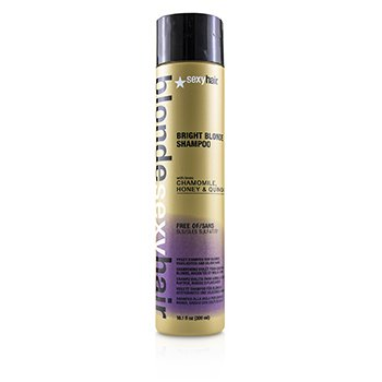 Blonde Sexy Hair Bright Blonde Violet Shampoo (For Blonde, Highlighted and Silver Hair) (300ml/10.1oz)