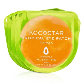 Tropical Eye Patch Unscented - Papaya (Individually packed) (10pairs)