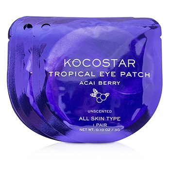 Tropical Eye Patch Unscented - Acai Berry (Individually packed) (10pairs)
