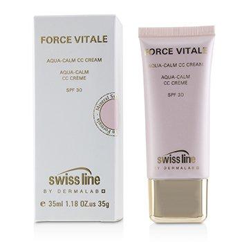 Force Vitale Aqua-Calm CC Cream SPF30 - #Beige 10 (35ml/1.18oz)