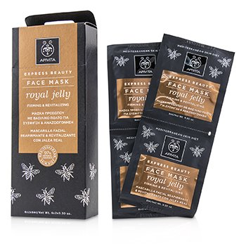 Express Beauty Face Mask with Royal Jelly (Firming & Revitalizing) (6x(2x8ml))