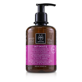 Intimate Gentle Cleansing Gel with Tea Tree & Propolis (For Extra Protection) (300ml/10.14oz)