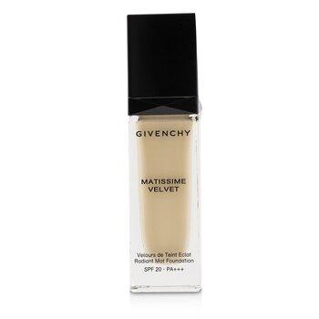 Givenchy 紀梵希 Matissime Velvet Radiant Mat Fluid Foundation SPF 20 - #00 Mat Ivory 30ml/1oz - 粉底及蜜粉