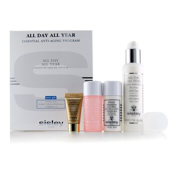 All Day All Year Essential Anti-Aging Program: All Day All Year 50ml + Cleansing Milk 30ml + Floral Toning Lotion 30ml + Supremya At Night 5ml (4pcs)