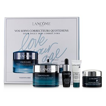 Visionnaire Set: Advanced Multi-Correcting Cream+Nuit Beauty Sleep Perfector+Eye Balm+Genifique Advanced Concentrate (4pcs)