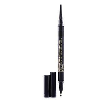 Double Wear Stay In Place Waterproof Liquid Liner + Pencil - # 01 Onxy (0.53g/0.012oz)
