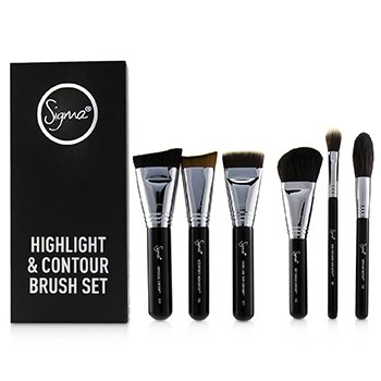 Highlight and Contour Brush Set (7pcs)