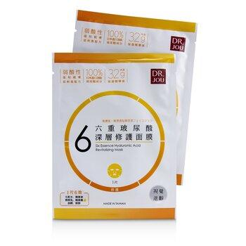 DR. JOU (By Dr. Morita) Six Essence Hyaluronic Acid Revitalizing Mask 7pcs - 面膜