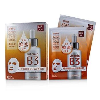 Honey Vita B3 Nourishing Facial Mask (8pcs)