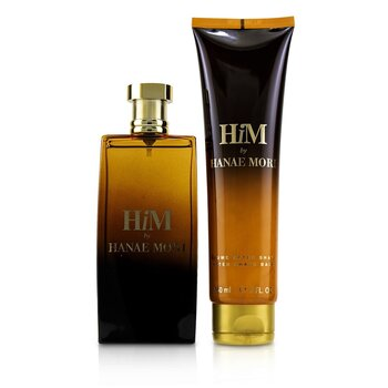 Him Coffret: Eau De Toilette Spray 100ml/3.4oz + After Shave Balm 150ml/5oz (2pcs)