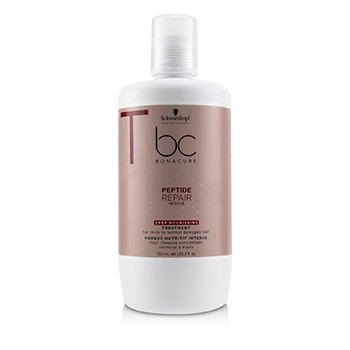 BC Bonacure Peptide Repair Rescue Deep Nourishing Treatment (For Thick to Normal Damaged Hair) (750ml/25.3oz)
