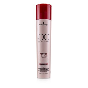 BC Bonacure Peptide Repair Rescue Deep Nourishing Micellar Shampoo (For Thick to Normal Damaged Hair) (250ml/8.5oz)