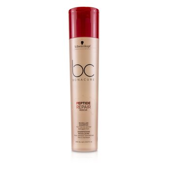 BC Bonacure Peptide Repair Rescue Micellar Shampoo (For Fine to Normal Damaged Hair) (250ml/8.5oz)