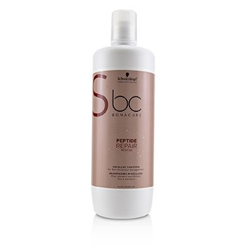 BC Bonacure Peptide Repair Rescue Micellar Shampoo (For Fine to Normal Damaged Hair) (1000ml/33.8oz)