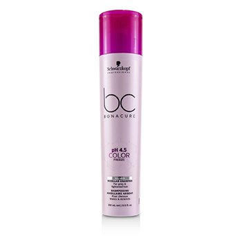 BC Bonacure pH 4.5 Color Freeze Silver Micellar Shampoo (For Grey & Lightened Hair) (250ml/8.5oz)