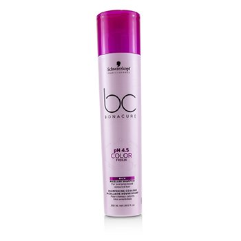 BC Bonacure pH 4.5 Color Freeze Rich Micellar Shampoo (For Overprocessed Coloured Hair) (250ml/8.5oz)