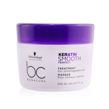 BC Bonacure Keratin Smooth Perfect Treatment (For Unmanageable Hair) (200ml/6.7oz)