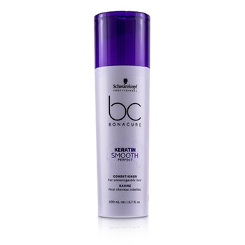 BC Bonacure Keratin Smooth Perfect Conditioner (For Unmanageable Hair) (200ml/6.7oz)