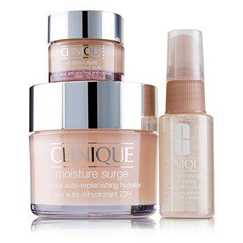 Moisture Surge Set: Moisture Surge 72-Hr 125ml+ All About Eyes 15ml + Moisture Surge Face Spray Thir (3pcs)