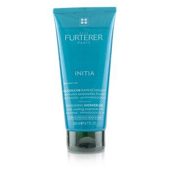 Rene Furterer RF荷那法蕊 Initia Refreshing Shower Gel - Soap-Free - Physiological pH (Body & Hair)  200m
