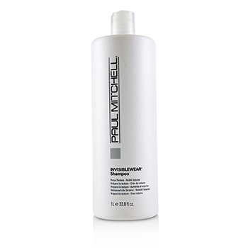 Invisiblewear Shampoo (Preps Texture - Builds Volume) (1000ml/33.8oz)