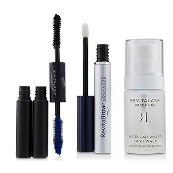 Eye Perfecting Gift Collection : (1x Eyebrow Conditioner, 1x Conditioning Eye Makeup Remover, 1x Volumizing Mascara Black) (3pcs)