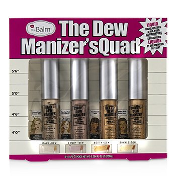 The Dew Manizer's Quad (Liquid Highlighters) (4pcs)