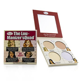 The Lou Manizer's Quad (Highlighter) (10g/0.35oz)