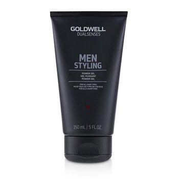 Dual Senses Men Styling Power Gel (For All Hair Types) (150ml/5oz)