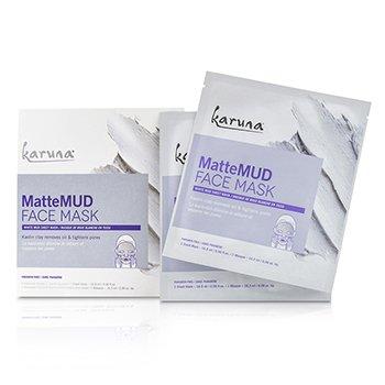 MatteMud Face Mask (4sheets)