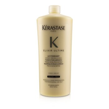 Elixir Ultime Le Fondant Beautifying Oil Infused Conditioner (Fine to Normal Dull Hair) (1000ml/34oz)