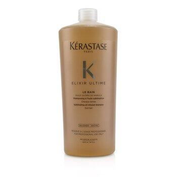 Elixir Ultime Le Bain Sublimating Oil Infused Shampoo (Dull Hair) (1000ml/34oz)