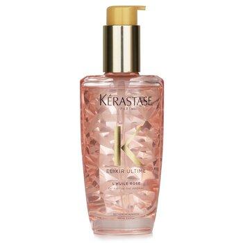 Elixir Ultime L'Huile Rose Radiance Sublimating Oil (Color Treated Hair) (100ml/3.4oz)