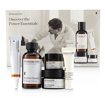 Discover The Power Essentials Kit: Nutritive Cleanser+Firming Activator+Finishing Moisturizer+Eye Cream+Vitamin C Ester (5pcs)