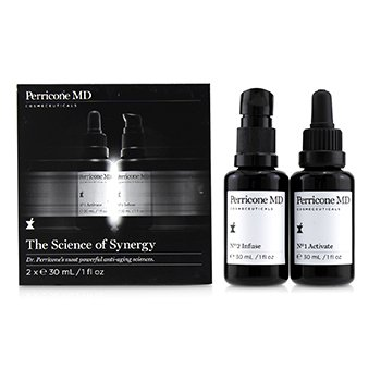 The Science of Synergy - 2 Steps Skincare System (2x30ml/1oz)