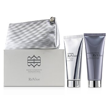 Perfect Companions Volumizing Travel Collection: Sculpting and Firming Mask 75g + Micro-Resurfacing Treatment 75g (2pcs+1bag)
