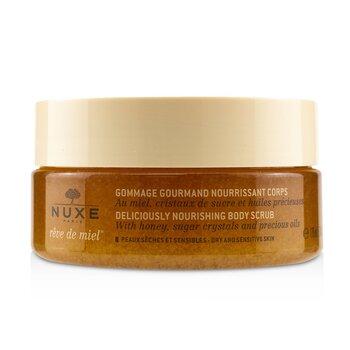 Reve De Miel Deliciously Nourishing Body Scrub - For Dry & Sensitive Skin (175ml/6.7oz)