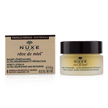 Reve De Miel Ultra-Nourishing & Repairing Honey Lip Balm - For Very Dry, Damaged Lips (15ml/0.52oz)