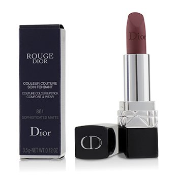 Rouge Dior Couture Colour Comfort & Wear Matte Lipstick - # 861 Sophisticated Matte (3.5g/0.12oz)