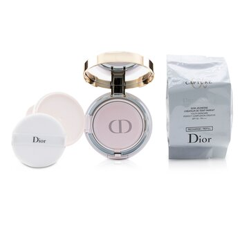 Capture Dreamskin Moist & Perfect Cushion SPF 50 With Extra Refill - # 025 (Soft Beige) (2x15g/0.5oz)