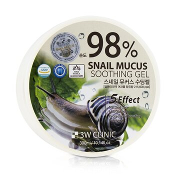 98% Snail Mucus Soothing Gel (300ml/10.14oz)