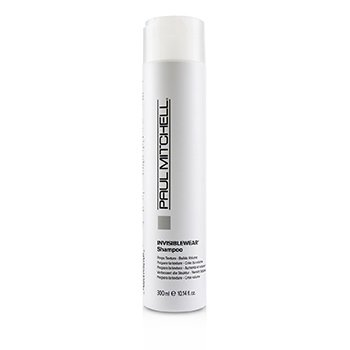 Invisiblewear Shampoo (Preps Texture - Builds Volume) (300ml/10.14oz)