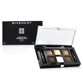 Nudes Nacres Shimmering Nudes Eye Palette (6x Eyeshadow, 2x Applicatior) (6g/0.21oz)
