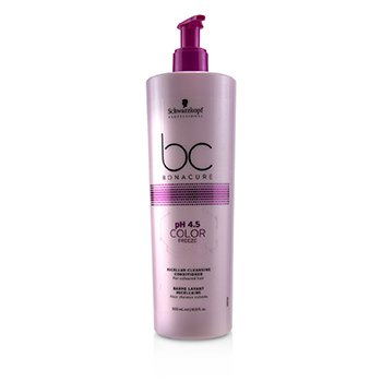 BC Bonacure pH 4.5 Color Freeze Micellar Cleansing Conditioner (For  Coloured Hair) (500ml/16.9oz)