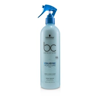 BC Bonacure Hyaluronic Moisture Kick Spray Conditioner (For Normal to Dry Hair) (400ml/13.5oz)