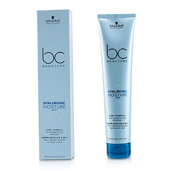BC Bonacure Hyaluronic Moisture Kick Curl Power 5 (For Normal to Dry Curly Hair) (125ml/4.2oz)