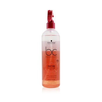 BC Bonacure Peptide Repair Rescue Spray Conditioner (For Fine to Normal Damaged Hair) (400ml/13.5oz)